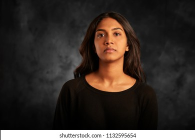 portrait of Sri Lankan woman
