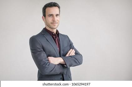 Portrait of a successful businessman