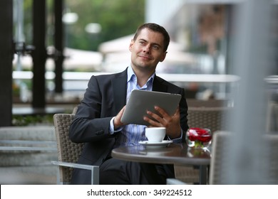 Portrait of a successful businessmen
