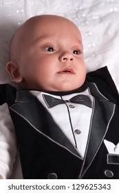 Portrait of a Sweet Baby Boy