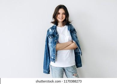 51a39a40c2a2 Imágenes, fotos de stock y vectores sobre 12 Year Old Girl Models ...