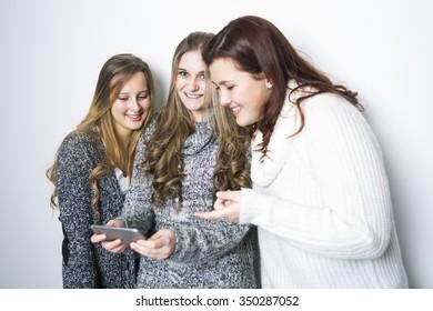 A Portrait Of Teenage Girls