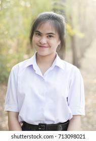 Portrait of Thai student