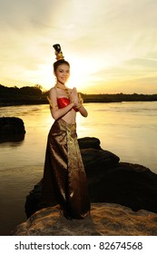 portrait of Thai women