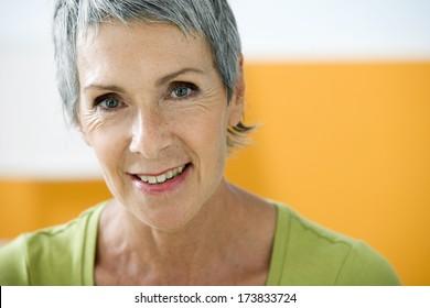 Portrait Woman In 50S