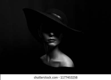 Black White Hat Images, Stock Photos & Vectors | Shutterstock