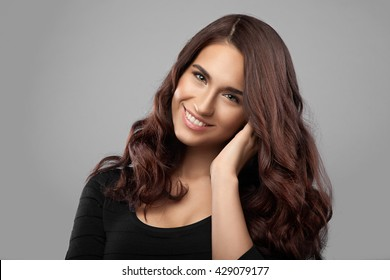 132 643 Dark Brown Dark Brown Hair Images Royalty Free Stock