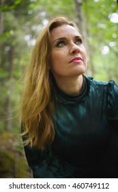 Portrait of a woman otdoors