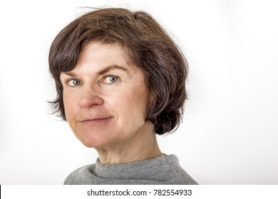 Portrait of a woman over fifty years old