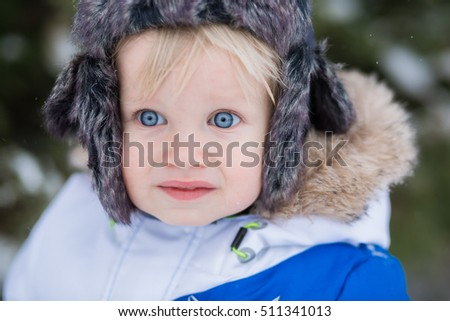 46bcc6313 Portrait Yearold Laughing Baby Boy Blue Stock Photo (Edit Now ...