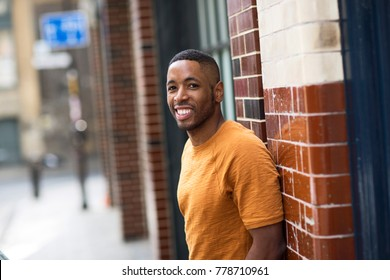 Portrait of a young african american man