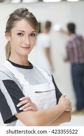 Portrait of young apprentice