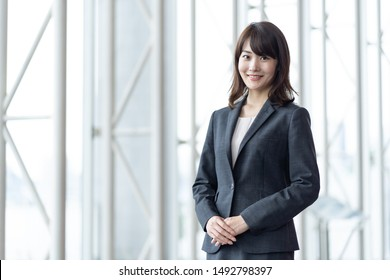 portrait of young asian businesswoman