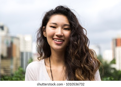 Portrait of Young Asian Girl
