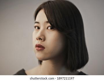 Porträt einer jungen Asiatin