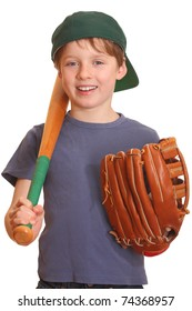 Portrait of a young baseball player