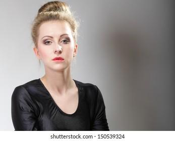 Pert young blonde teen — 13