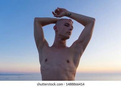 Sunset Male Model Stock Photos Images Photography