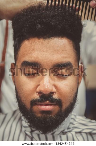 Pleasant Portrait Young Black Man Getting New Stock Photo Edit Now 1342454744 Schematic Wiring Diagrams Phreekkolirunnerswayorg