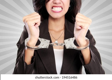 Handcuffed ladies