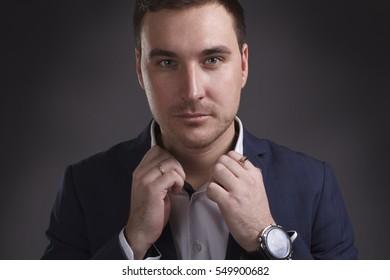 Portrait young businessman