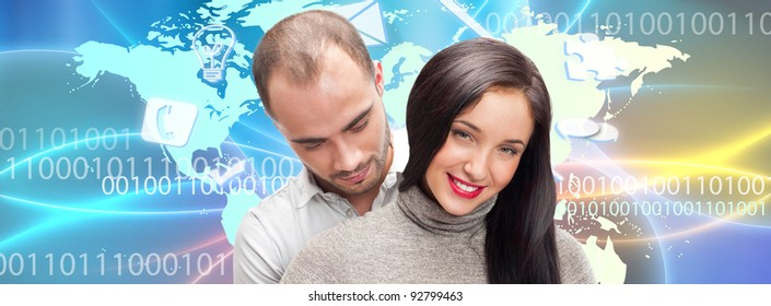 International couple dating site