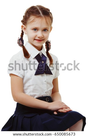 Can not Pics of young girls in school uniform possible