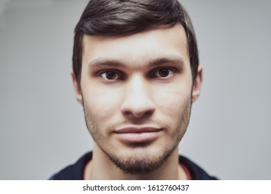 portrait of a young guy of Caucasian appearance 20-29 years