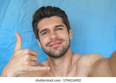 Guy selfie hot Hot