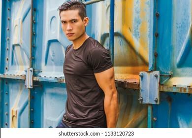 Models asian top male The Hidden