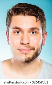 Shaved men galleries