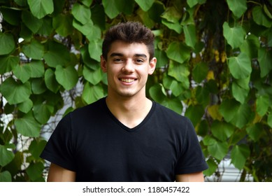 Portrait of a young man outdoor