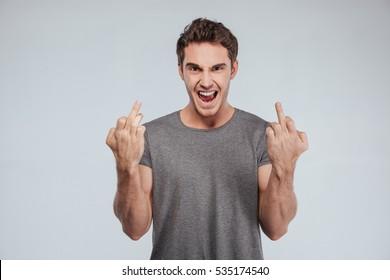 Fuck Off Finger Images, Stock Photos & Vectors | Shutterstock