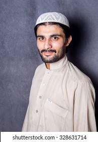 Portrait of young pathan.