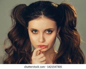 Groovy Hairstyle Two Tails Images Stock Photos Vectors Shutterstock Schematic Wiring Diagrams Amerangerunnerswayorg