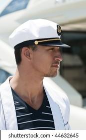 portrait of a young sailor