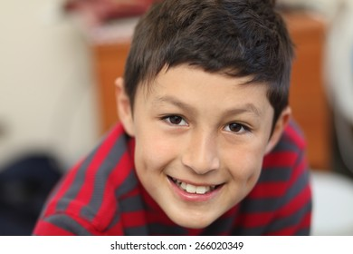 Portrait of young smiling boy