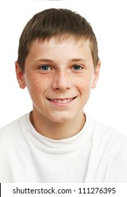 Portrait of young smilling boy