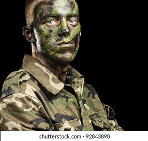 Army Face Paint Images, Stock Photos & Vectors | Shutterstock