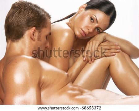 Russian women naked in hottub