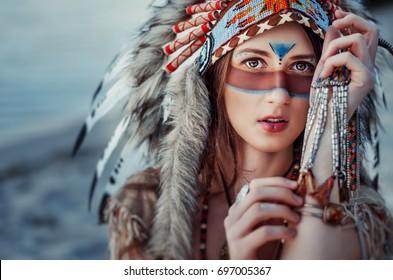 Warrior Face Paint Images Stock Photos Vectors Shutterstock