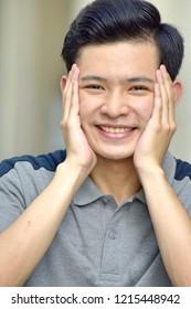 Portrait Of A Youthful Asian Juvenile