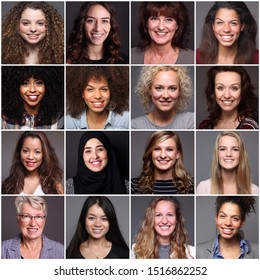 Porträts von 14 wunderschönen kommerziellen Frauen