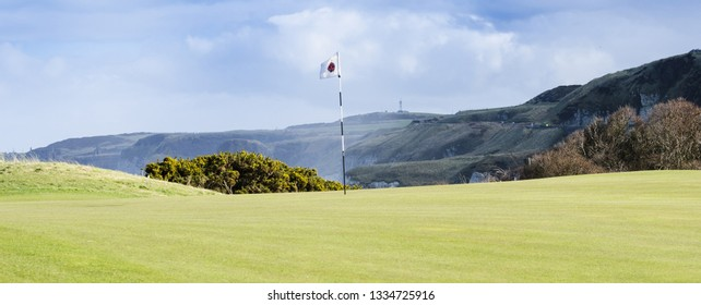 Portrush ,Co. Antrim N.Ireland. Feb 18th 2015   Taken on the Royal Portrush Golf Club Course in 2015. This course (with some changes) is to host the 2019 British Open.