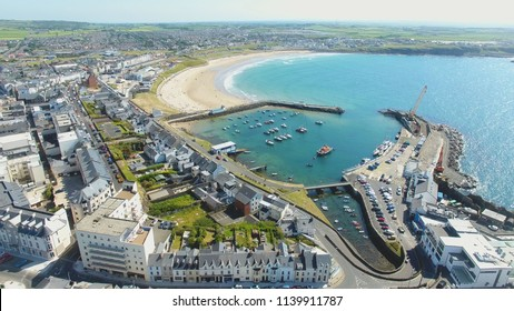 Portrush Town Atlantic ocean north Coast Co. Antrim Northern Ire