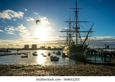 Portsmouth historic Dockyard / HMS Warrior