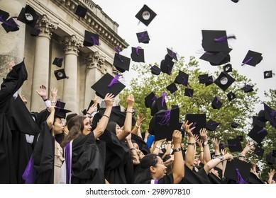 PORTSMOUTH - JULY 20: graduation ceremony at Portsmouth University on July 20, 2015 in Portsmouth, UK