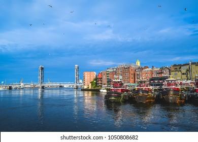 Portsmouth, New Hampshire tugboats