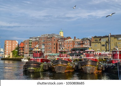 Portsmouth, New Hampshire tugboats