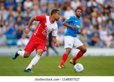 PORTSMOUTH, UK - JULY 28, 2018: Urby Emanuelson of FC Utrecht